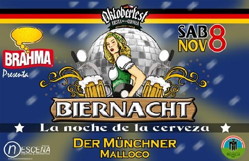 Fiesta de la Cerveza en Malloco Chile
