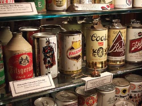 Museo de latas de cerveza