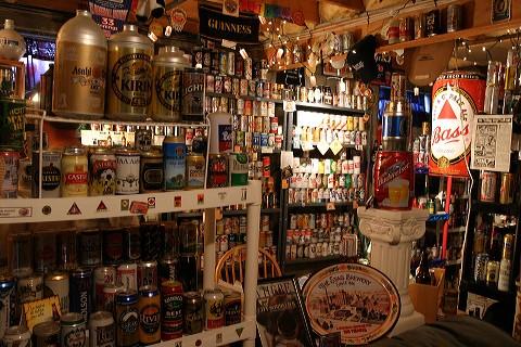 Un museo de latas de cerveza en EEUU