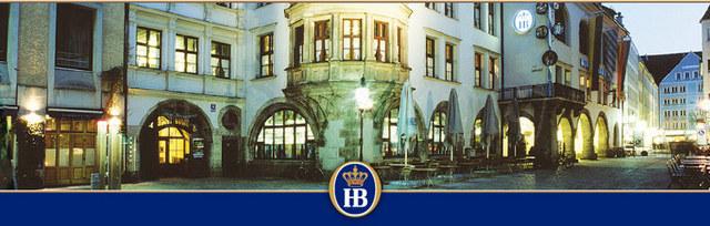 La cervecería Hofbrauhaus en Munich