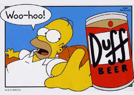Hommer cerveza Duff