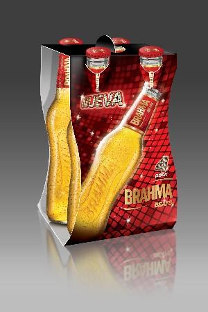Brahma Beats y su Four Pack, gran diseño