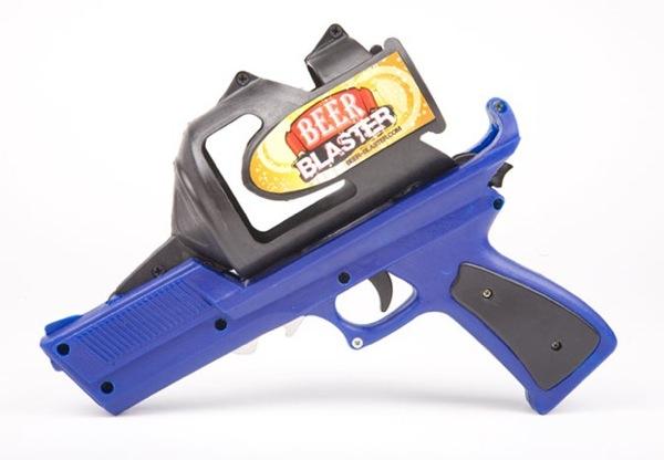 Beer Blaster, una pistola cervecera