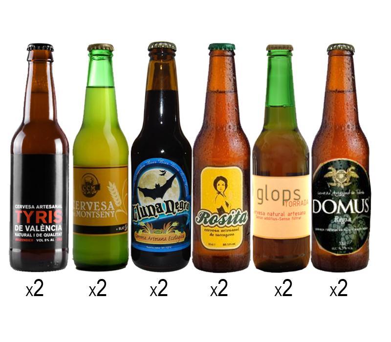 Pack degustacion de cervezas