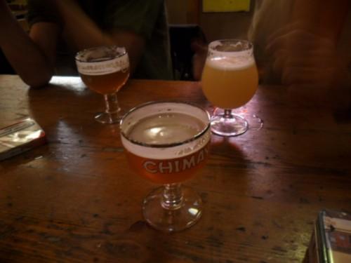 Chimay y Orval en el Delirium Cafe