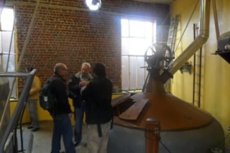 Visita a la Fábrica de Cervezas Cantillón en Bruselas