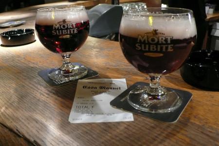 Mort Subite, la cerveza lambic