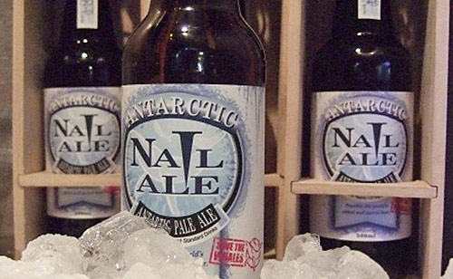 Antarctic Nail Ale, la Cerveza más cara del Mundo