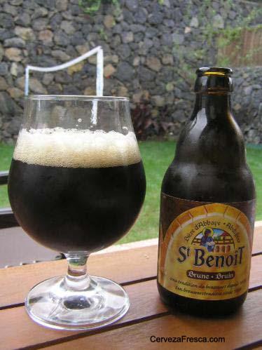 Cerveza Saint Benoit Brune