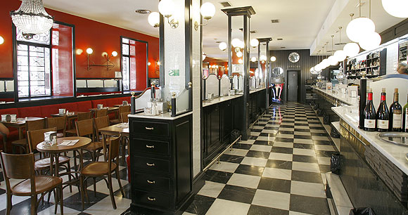 cervecería Santa Barbara en Madrid