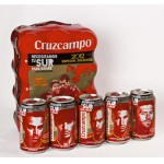 Edición especial de Cruzcampo con motivo de la Eurocopa 2012