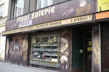 Pivní Galerie, donde la cerveza es una cultura